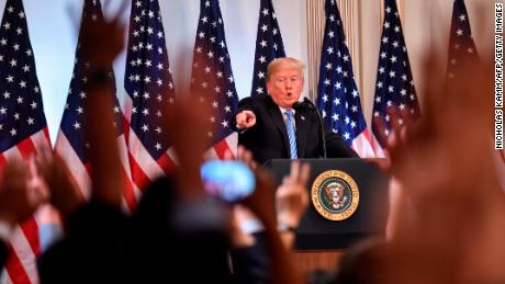 Transcript: Donald Trump's New York press conference
