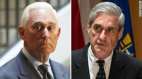 Roger Stone and Robert Mueller