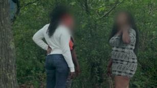 The Paris park where Nigerian women are forced into prostitution