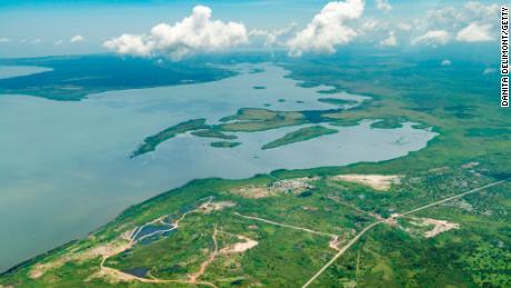 Lake Victoria -- source of the White Nile.