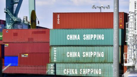 The United States and China have slapped tariffs on hundreds of billions of dollars of each other's products this year.