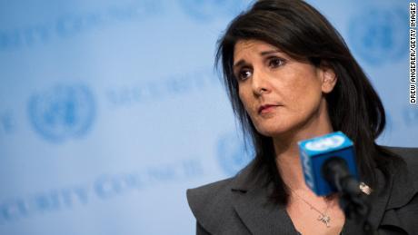 Trump's UN Ambassador Nikki Haley resigns