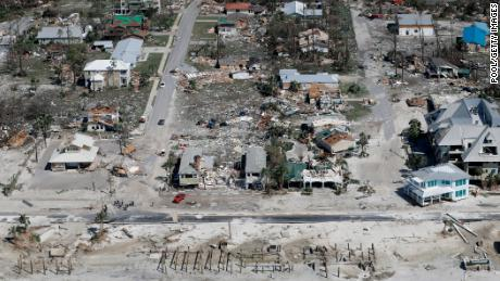 Mexico Beach was one of the hardest hit areas by Hurricane Michael.
