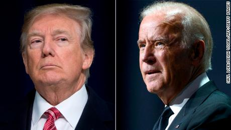 Trump defends his Charlottesville comments after Biden slams them