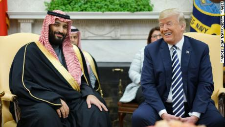 Trump's Saudi support highlights brutality of 'America First' doctrine