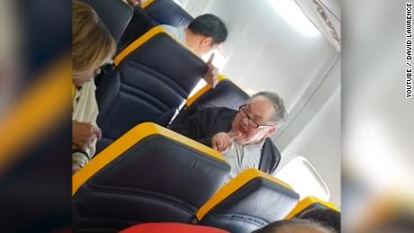 Man launches into racist rant on Ryanair plane -- but keeps his seat