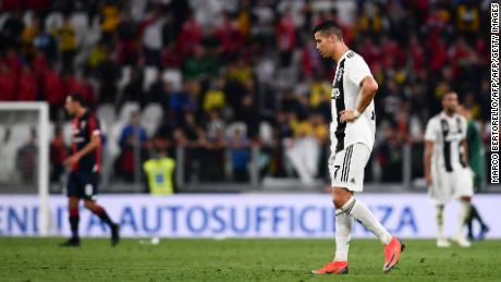 """I'm happy to be at a great team like Juventus,"" said Ronaldo"