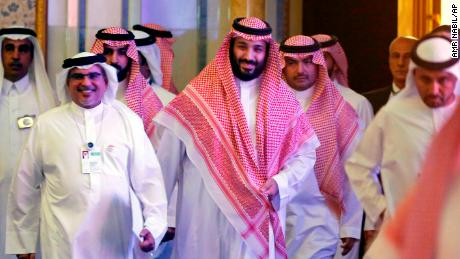 Saudi Crown Prince, Mohammed bin Salman arrives Wednesday for the second day of  the Future Investment Initiative conference in Riyadh.