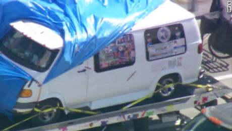 Suspect's van -- plastered with Trump, Pence stickers -- a focus of bomb investigation