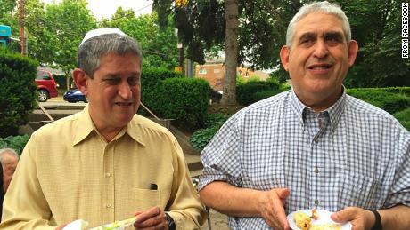 David Rosenthal, left, and Cecil Rosenthal