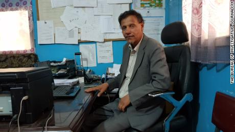 Dr. Mohammad Saber Hotak is head of pharmaceuticals at Antoni Infectious Disease Hospital.