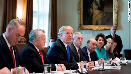 Trump prepares to remake his Cabinet