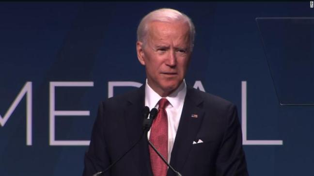 Biden chides 'demeaning' nature of politics