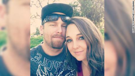 Whitney Vaughan says she and husband Grady have lost everything.