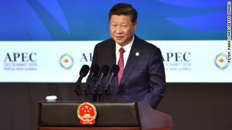 Xi Jinping says no one wins in 'cold war,' but Pence won't back down