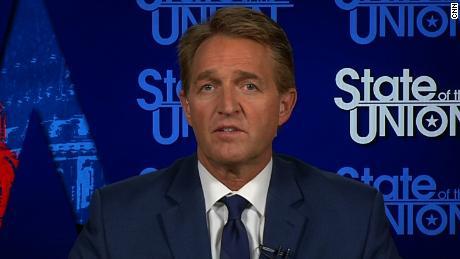 Sen. Jeff Flake: 'Worth using a little leverage' to get Mueller bill passed