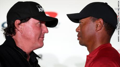 Tiger Woods and Phil Mickelson begin 'smack talk' ahead of The Match