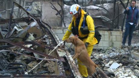 Las fuertes lluvias apagan los incendios forestales más mortíferos de California y representan nuevos peligros