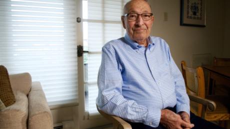 Millard Braunstein was disgusted that his mother's gravestone was desecrated in a Jewish cemetery.