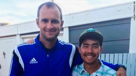 John Allen Chau, right, was in Cape Town days before he traveled to North Sentinel Island.