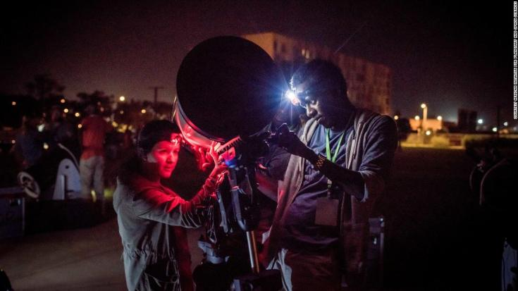 """Two dozen Senegalese astronomers and scientists accompanied NASA's New Horizons team in Dakar, Senegal to collect precious data in preparation for the flyby of Ultima Thule on January 2019. Ancient objects in the Kuiper Belt like Ultima Thule, a medieval term that means beyond the known world, hold clues to the formation of planets and the """"third zone"""" of our solar system in which they reside.<br />"""
