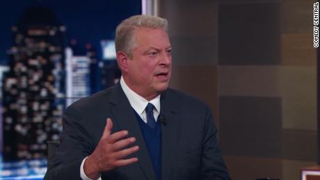 Al Gore appeared on The Daily Show on November 28.