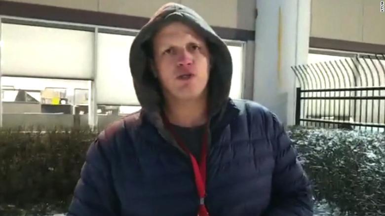 KTVA reporter Alaska earthquake