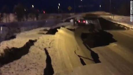Highway Alaska damage
