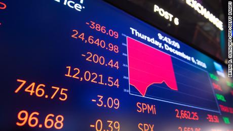 Stocks plunge on US-China trade tension