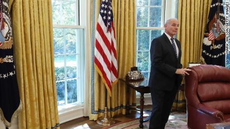 Trump announces John Kelly is leaving