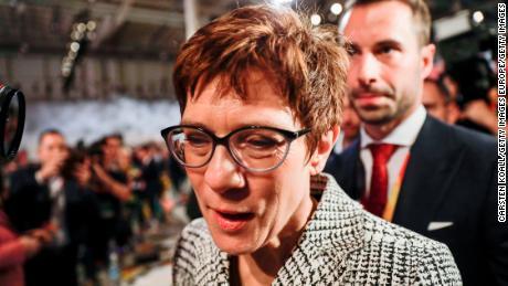 Kramp-Karrenbauer is said to have a similar style to Merkel.