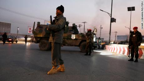 At least 47 killed in hours-long attack on government building in Kabul