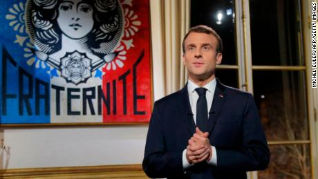 France's Emmanuel Macron calls for respect and unity in New Year's speech