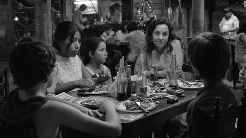 "<strong>Best cinematography:</strong> ""Roma"""