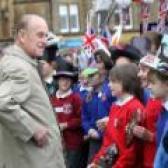 32 Prince Philip unfurled