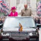 39 Prince Philip unfurled