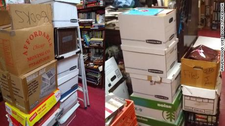 """""""Because Marie Kondo's TV show on cleaning has begun running on Netflix, we took in a month's worth of books in 2 days,"""" Ravenswood Books posted on Facebook. """"The good news is, we have a LOT of new books. The bad news is, we need a nap! Phew!"""""""
