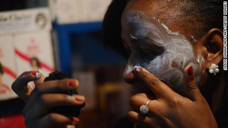 According to a 2011 report by the WHO, 40% of African women bleach their skins