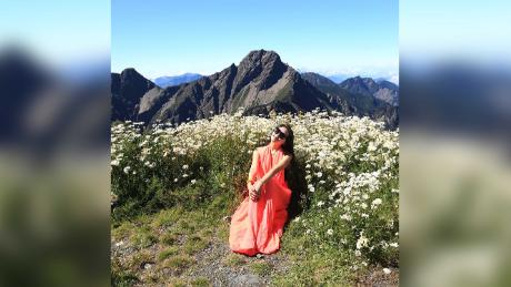 Gigi Wu, Taiwanese & # 39;  Bikini Hiker, & # 39;  Dies after a mountain falls
