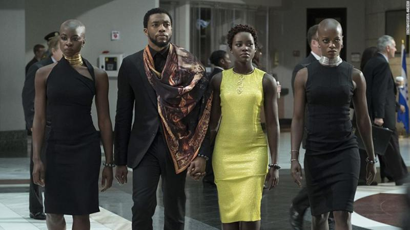 """<strong>Best costume design:</strong> """"Black Panther"""""""