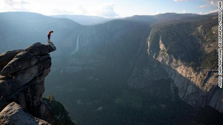 A film crew documented Honnold's incredible feat.