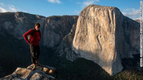 El Capitan is at the centre of the rock climbing world.