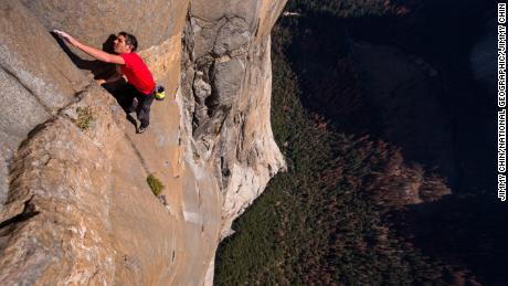 Alex Honnold climbed El Capitan in Yosemite National Park -- without ropes.