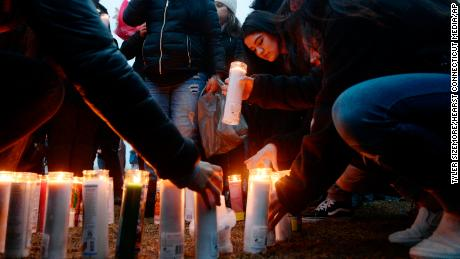 Friends and family gathered Thursday at a New Rochelle park for a candlelight vigil in honor of Reyes.