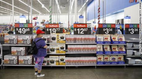 """Increased tariffs will lead to increased prices, we believe, for our customers,"" Walmart said on Thursday."