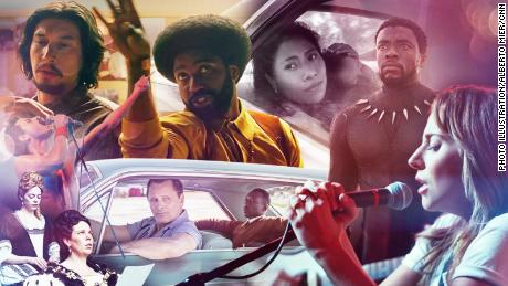All of this year's Oscar-nominated movies are available on DVD Netflix.