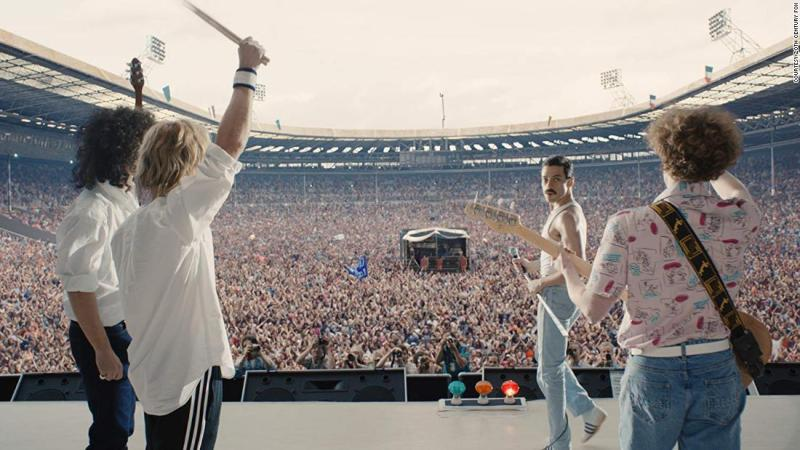 "<strong>Best sound editing:</strong> ""Bohemian Rhapsody"""