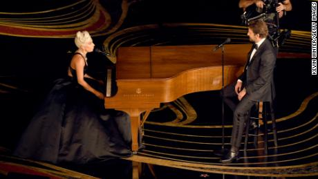 Lady Gaga and Bradley Cooper performed 'Shallow' from 'A Star Is Born'