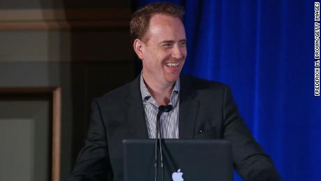 Robert Greenblatt speaks onstage during the 'Undateable' panel discussion at the NBC/Universal portion of the 2015 Winter TCA Tour at the Langham Hotel on January 16, 2015 in Pasadena, California.