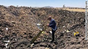 Boeing 737 black box found as planes grounded after Ethiopian Airlines crash